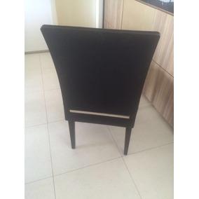 Mesa De Jantar Moderna + 6 Cadeiras
