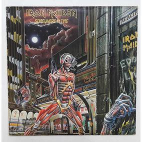 Lp Iron Maiden Somewhere In Time Disco Vinil Heavy Encarte