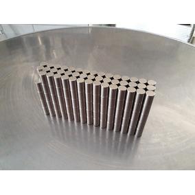 10 (dez) Ímãs Super Potentes Neodimio N50 10x15mm Cilindrico