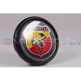Kit 4 Calotas Fiat Logo Abarth 48mm