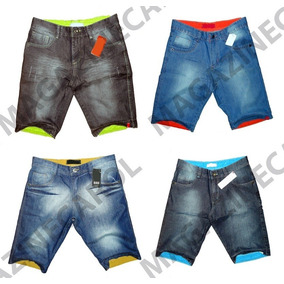 Kit 2 Bermudas + 2 Calça Jeans Skinny Pronta Entrega