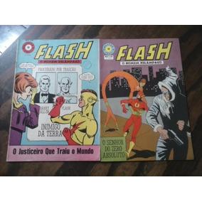 Revista Flash 2 Exemplares 1968 E 1969 Gibi Antigo