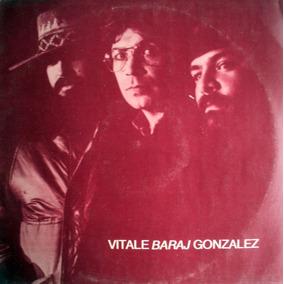 Lp - Trio Lito Vitale - Bernardo Baraj - Lucho Gonzalez