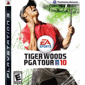 Jogo Mídia Física Tiger Woods Pga Tour 10 Playstation Ps3