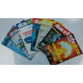 Coleção Revistas Dicas Info - 7 Exemplares