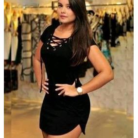 9f449ad77cd Vestido Curto Decote Roupa Feminina Juju Panicat Moda Verao