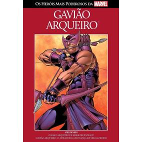 Col Herois + Poderosos Marvel 9 - Gavião Arqueiro - Novo