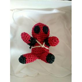 Chaveiro De Crochê Deadpool - Artegeek