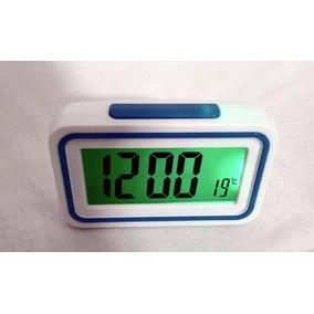 f0cfeedf215 Relógio Despertador Fala Hora Temperatura Deficiente Visual ...