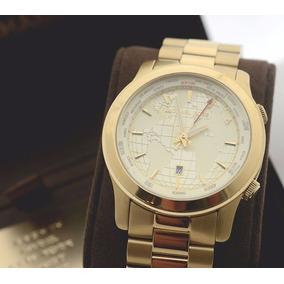 Relógio Michael Kors Mk5960 Dourado Mapas. R  355 99. 12x R  29 sem juros ea7bbcc763