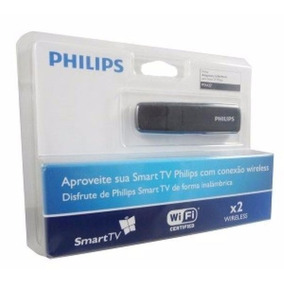 Adaptador Wi-fi Usb Pta127/55 Para Tvs Philips - Wireless