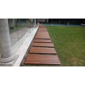 Piso Para Exterior De Madera Solida Deck Cumaru