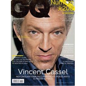 fc9a0a9907 Revista Gq Italia  Vicent Cassel   Valentino Rossi   Bundche