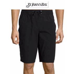 Shorts Xl Traje Bano Cargo X Grande St John Bay Negro Hombre