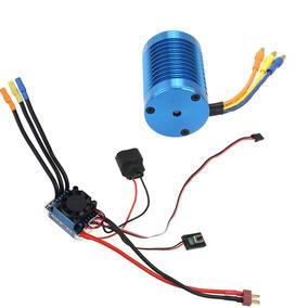 Combo 60ah 9t 3850kv Brushless - Motor E Esc