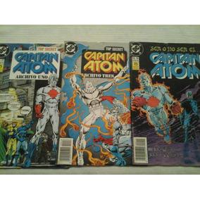 Pack Capitan Atom: Archivos Secretos - 3 Ejs (completo)