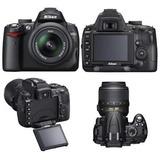 Nikon D5000 Nikkor Lens 18-55 Y 70-300, Camara Nikon