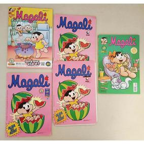 Magali Nº 1 Abril, Globo E Panini Kit Com Todas #1 Até Hoje
