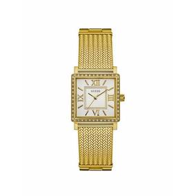 8bd92edb127 Relógio Guess W0001l1 Ladies Fierce Leopard Silver Watch - Relógios ...