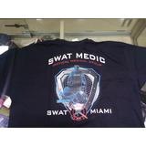 Camiseta Masculina Preta Militar Swat Medic Miami 94d2ddfe513