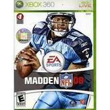 Madden 08 Xbox 360 Usado Incluye Manual