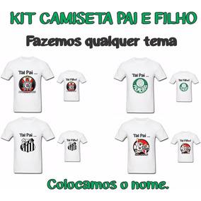 78a79090a2 Estampas De Times De Futebol - Camisetas e Blusas no Mercado Livre ...