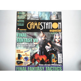 Revista Final Fantasy 7 Detonado..