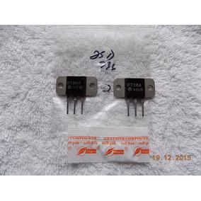 Transistores Hitachi 2sd736 A - Original - Lote Com O2 Peças