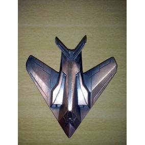 Apontador Metal Acobreado Em Forma De Avião Lote De Quatro