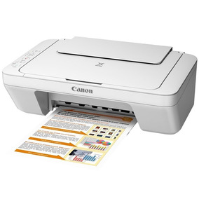 Impressora Multifuncional Colorida Usb Scanner Mg2410 Canon