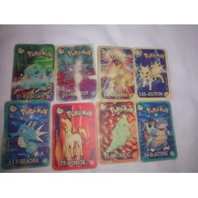 Tazos Cartas Pokémon Elma Chips