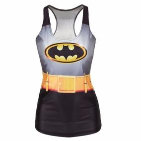 Regata Feminina Delicada Morcego Batman 4b9cb0537a4