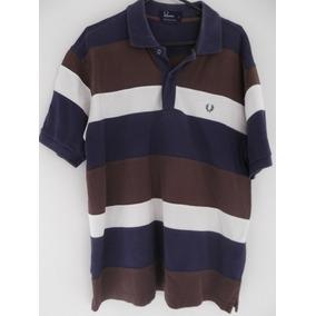 Camisa Polo Fred Perry Listrada G db3fba8c6131a