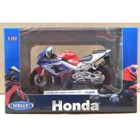 Miniaturas De Moto Welly Suzuki, Honda Etc 1:18 12 Cm