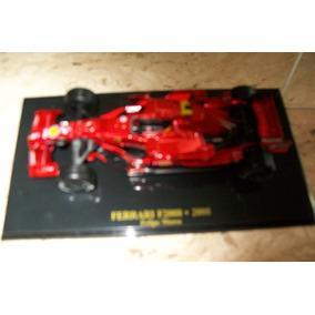 Miniatura Ferrari F2008 - Felipe Massa - 1/43 - Eagle Moss