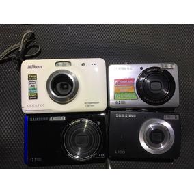 Lote De Camaras Samsung Pl50 , L100 Tl220 Y Nikon S30