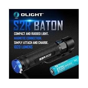Oferta De $2,150 Olight S2r Baton, 1020lm Bat Y Cargador!