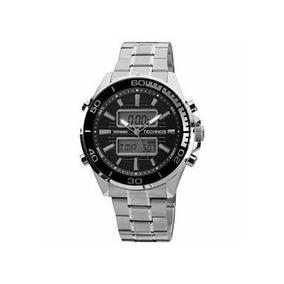 df76e2291b1 Relogio Techno Serie Prata - Relógio Technos Masculino no Mercado ...