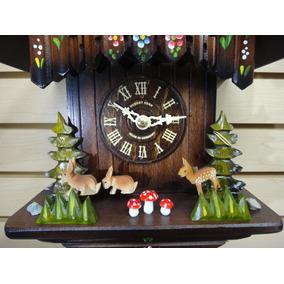 Reloj Cucú Alemán Hubert Herr Modelo 663 V Rm ¡nuevo!