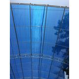 Malla Sombra Azul 80 % Oferta Ya Con Cable Plástico