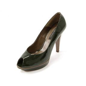 Zapatos Verdes Zara Woman