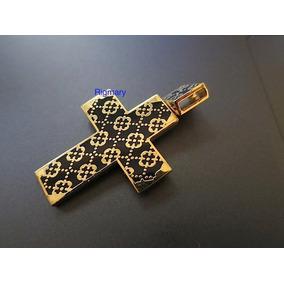 Pingente Cruz Ortodoxa Russa - Joias e Relógios no Mercado Livre Brasil 002b24346b