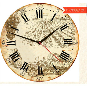 f6e46b64cc4 Relogio Parede Colonial Rustico - Relógios De Parede no Mercado ...