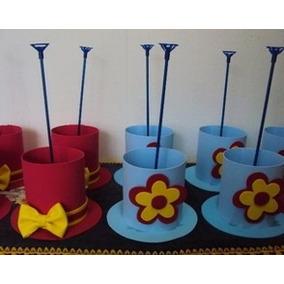 Cartola Para Centro De Mesa Festa - Decoração de Festa no Mercado ... d4e4ddd3379