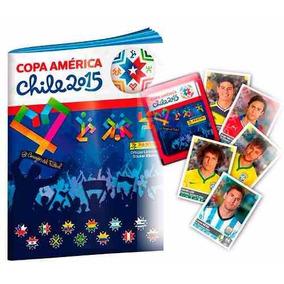Album Copa America 2015 Com 10 Figurinhas Soltas