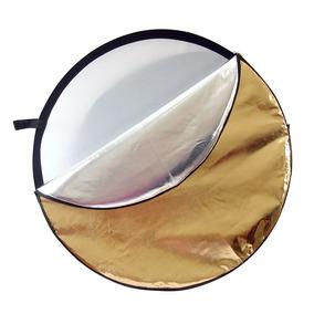 Rebatedor 5x1 Circular 110cm Difusor Fotografico E Refletor
