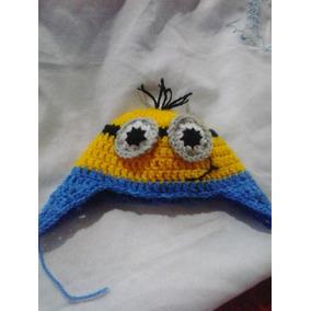 83a5c254cb18a Gorro Minions Croche - Artesanato no Mercado Livre Brasil