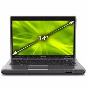 Notebook 14 Toshiba Satellite Intel I5 500gb 6gb