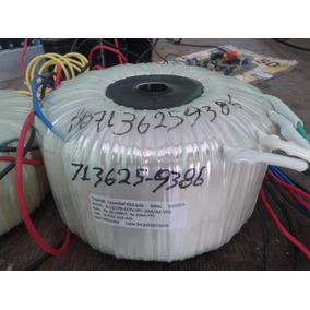 Trasformador Toroidal 100+100v 40amperes Oxiliar 12v