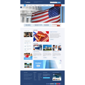 Mega Site Politico Completo Responsivo+suporte